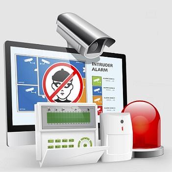 Access control - intruder alarm